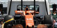 El monoplaza de Alonso, tras abandonar en Canadá - SoyMotor.com