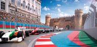 Las imágenes del nuevo circuito de Bakú, Azerbaiyán
