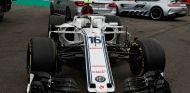 El C37 de Charles Leclerc tras el accidente de Spa - SoyMotor.com