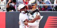 Nicolas y Lewis Hamilton en Austin - SoyMotor.com