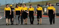 Sainz ya trabaja con Renault en Austin - SoyMotor.com