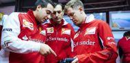 FOTOS: El debut de Vettel con Ferrari