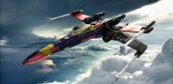 Star Wars Formula One: así serían los X-Wings