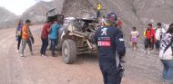 Carlos Sainz tras su accidente - SoyMotor