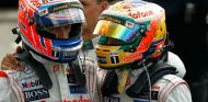 Button y Hamilton fueron compañeros en McLaren tres temporadas - LaF1