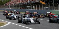 Los dos Williams en Barcelona - LaF1.es