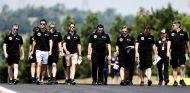 Track-walk de Lotus en el Gran Premio de Hungría - LaF1