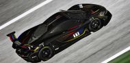 Este es el espectacular diseño del McLaren P1 GTR con los colores del casco de James Hunt - SoyMotor