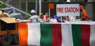 El paddock, en busca de respuestas al accidente de Bianchi