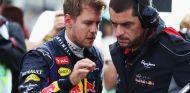 Sebastian Vettel y Guillaume Rocquelin - LaF1