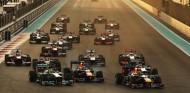 Salida del Gran Premio de Abu Dabi de 2013 - LaF1
