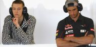 Daniil Kvyat y Carlos Sainz Jr - LaF1