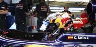 Carlos Sainz en los tests de jóvenes pilotos de Silverstone, en 2013 - LaF1