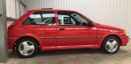 Un Ford Fiesta RS Turbo de 1990, como nuevo