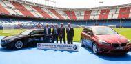 Acto de la firma del acuerdo entre el Atlético de Madrid y los concesionarios oficiales de BMW - SoyMotor
