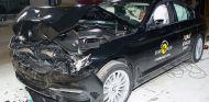 El BMW Serie 5 recibe cinco estrellas en el test Euro NCAP - SoyMotor.com