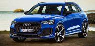Asi sería el Audi Q3 RS. No le sienta nada mal a este SUV una imagen más deportiva - SoyMotor