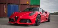 El imponente frontal del Alfa Romeo 4C de Zender - SoyMotor