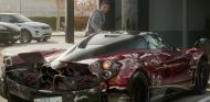 Es ficción, pero la trasera del Pagani Huayra de Cristiano Ronaldo ha quedado destrozada - SoyMotor