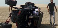 Gerard Piqué salió ileso y por su propio pie tras el accidente - SoyMotor