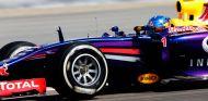 Sebastian Vettel durante los tests de Baréin - LaF1