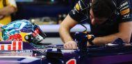 Sebastian Vettel en los test de Baréin - LaF1