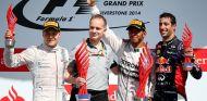 Hamilton saborea la venganza en la batalla épica de Alonso y Vettel