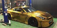 El Nissan GT-R sale de los talleres presumiendo de 'traje' - SoyMotor