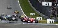 Salida del GP de Austria F1 2003