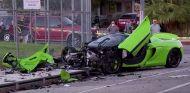 El McLaren después del accidente - SoyMotor.com