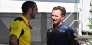 Cyril Abiteboul y Christian Horner en Austin - SoyMotor.com