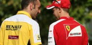 Abiteboul enfría la vía Alonso pero no descarta a Vettel