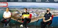 GP de Rusia F1 2020: Rueda de prensa del viernes - SoyMotor.com