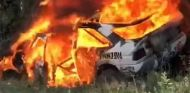Ken Block destroza su Ford Escort RS Cosworth