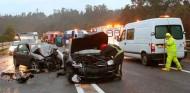 El número de fallecidos en accidentes de carretera desciende a niveles de 2014