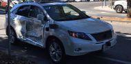 Coche autónomo de google accidentado en Mountain View - SoyMotor.com