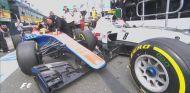 Accidente entre Haryanto y Grosjean durante los Libres 3 - LaF1