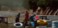 Accidente de Christian Danner y Nigel Mansell en el GP de Portugal de 1989 - SoyMotor.com