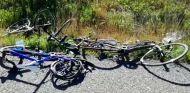 Atropello múltiple en Mallorca: nueve ciclistas heridos