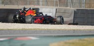Accidente de Pierre Gasly en los test de pretemporada - SoyMotor
