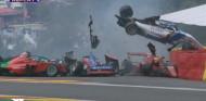 Pole de Chadwick tras un fuerte accidente en Eau Rouge con seis implicadas - SoyMotor.com
