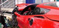 Grave accidente sin carné de conducir con un Corvette C7