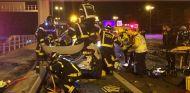 Triple colisión en la M-30 de Madrid con cuatro heridos - SoyMotor.com