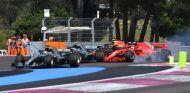 Accidente en la salida del GP de Francia de 2018 – SoyMotor.com