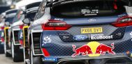 Vista trasera del Ford Fiesta WRC en el Rally de Argentina 2018 - SoyMotor.com