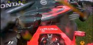Accidente entre Kimi Räikkönen y Fernando Alonso en Austria - LaF1
