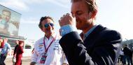 Alejandro Agag y Nico Rosberg en Berlín - SoyMotor.com