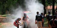 Dakar 2017: Al-Attiyah gana la Etapa 1 pero acaba en llamas