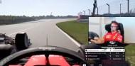 VÍDEO: el adelantamiento al límite de Leclerc a Albon en China - SoyMotor.com