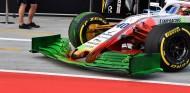 Alerón delantero de Williams en el test de Hungría 2018 - SoyMotor.com